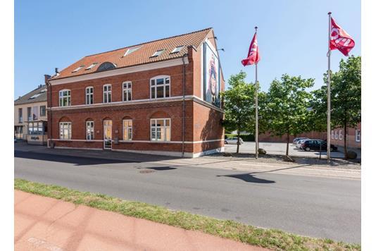 Kontor på Jeppe Schous Gade i Holstebro - Ejendommen