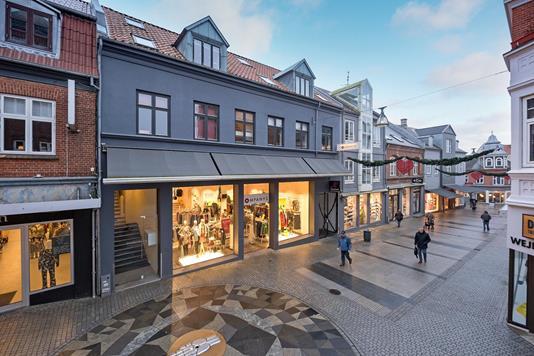 Bolig/erhverv på Nørregade i Holstebro - Ejendommen