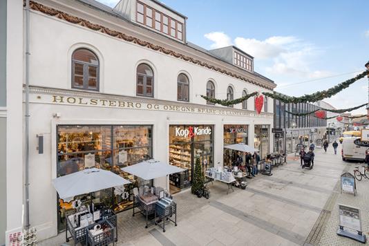 Bolig/erhverv på Østergade i Holstebro - Ejendommen