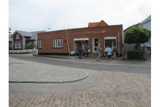 Detail på Hovedgaden i Fanø - Ejendommen