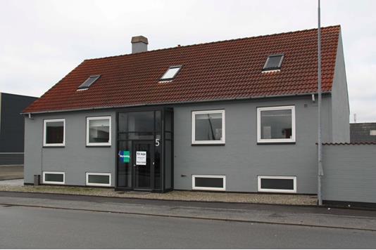 Kontor på Fiskebrogade i Esbjerg - Facade