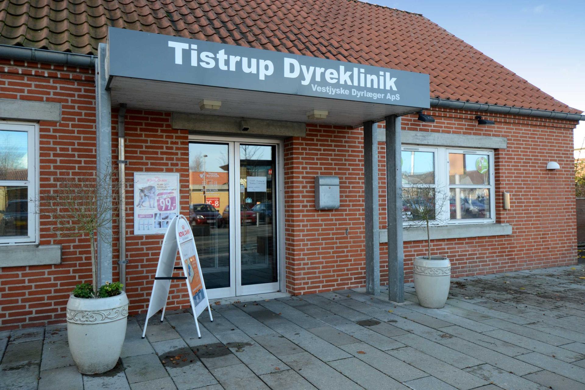 Bolig/erhverv på Torvet i Tistrup - Indgang