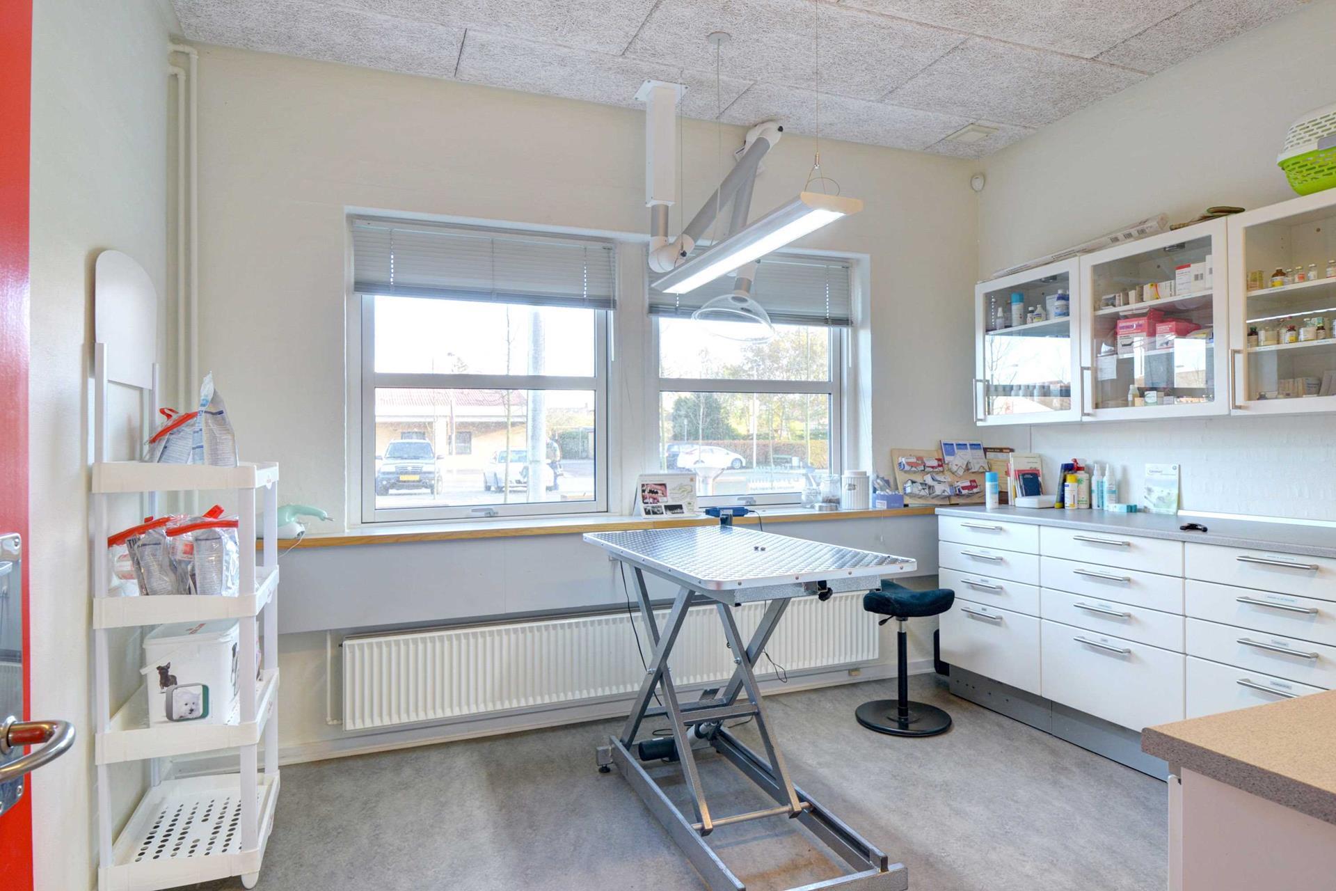Bolig/erhverv på Torvet i Tistrup - Værksted
