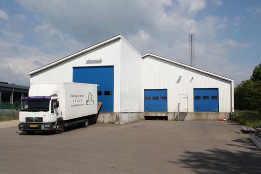 Produktion/lager på Stærevej i Esbjerg Ø - Facade