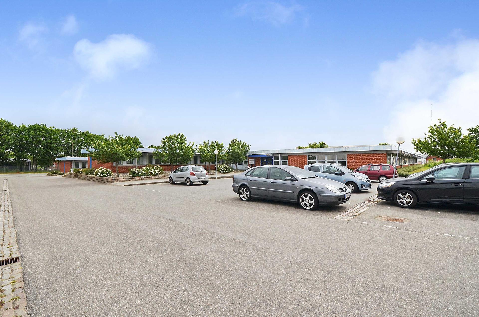Bolig/erhverv på Høgevej i Esbjerg Ø - Facade