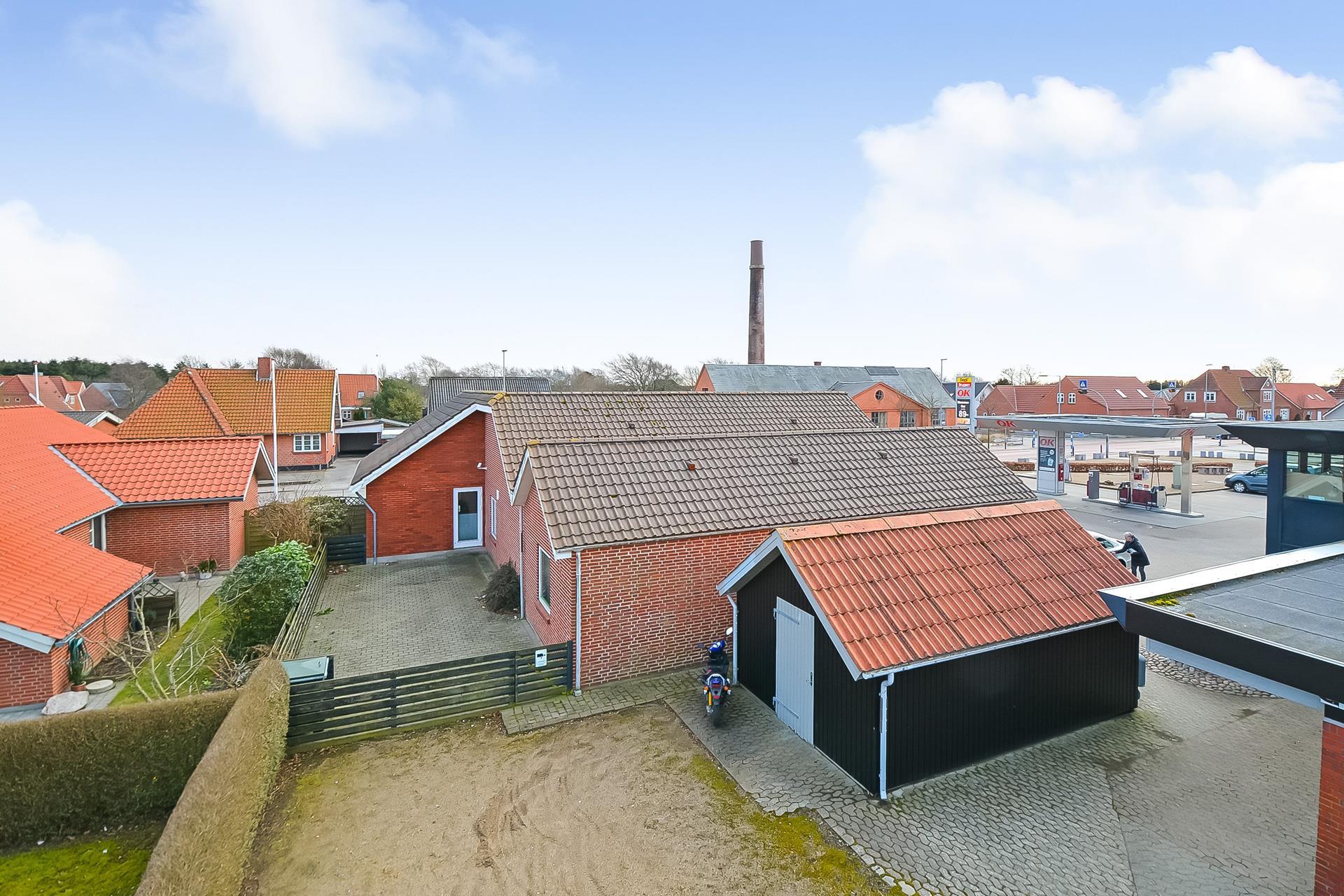 Bolig/erhverv på Vesterled i Janderup Vestj - Erhverv