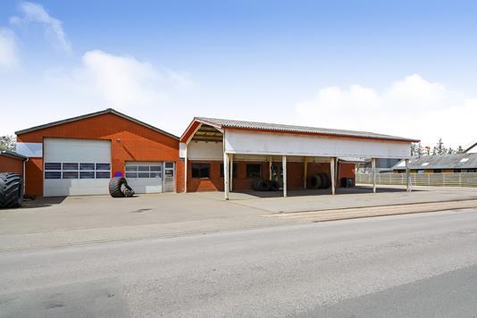 Produktion/lager på Industrivej i Ribe - Erhverv