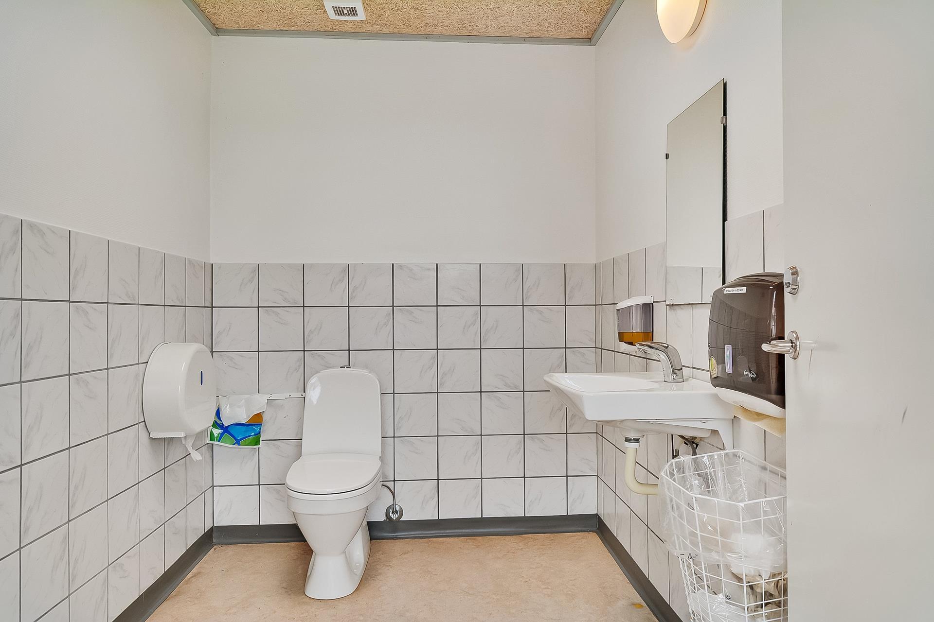 Bolig/erhverv på Skolevej i Skærbæk - Toilet