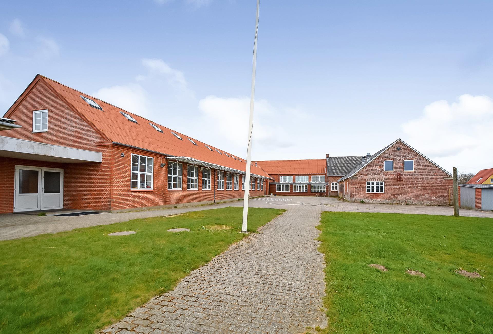 Bolig/erhverv på Skolevej i Skærbæk - Ejendommen