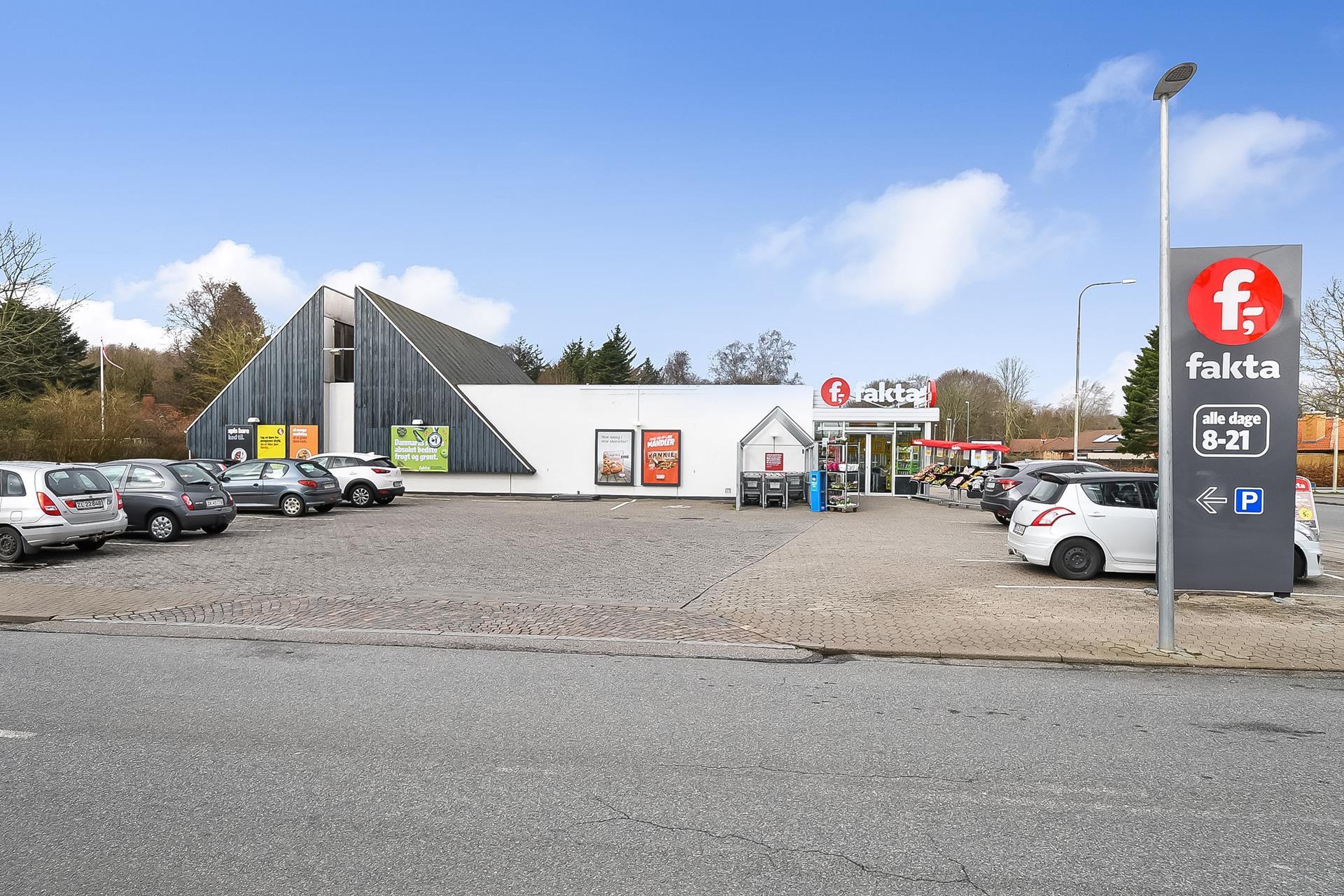 Detail på Kløvervej i Esbjerg N - Ejendommen