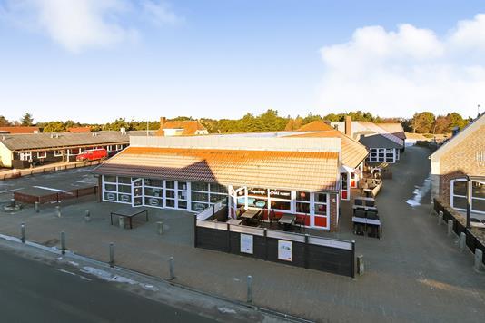 Detail på Blåvandvej i Blåvand - Terrasse