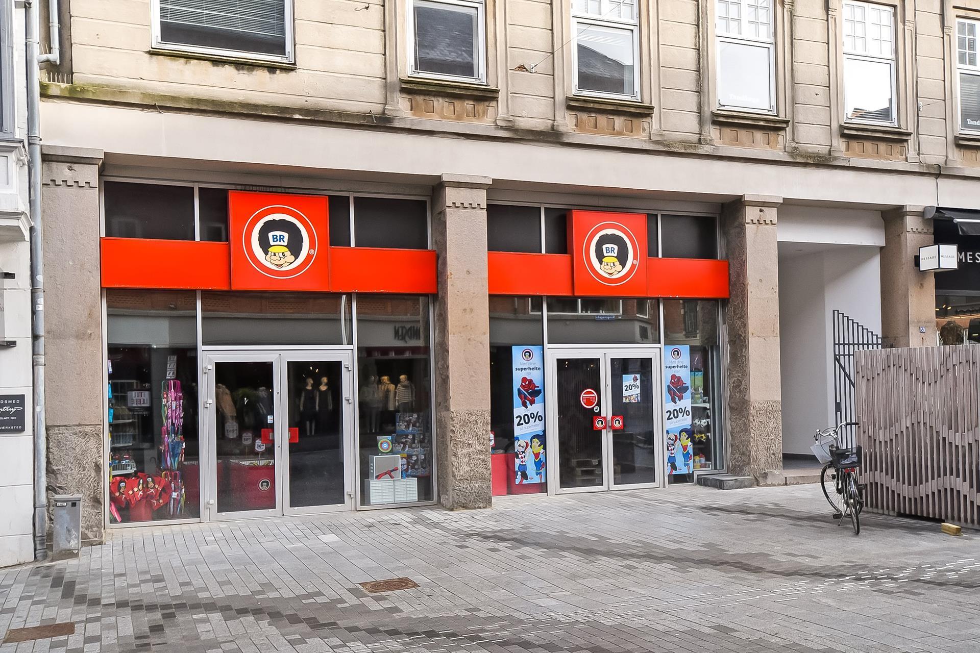 Detail på Kongensgade i Esbjerg - Ejendommen