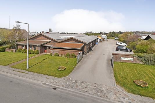 Produktion/lager på Håndværkervej i Varde - Ejendommen