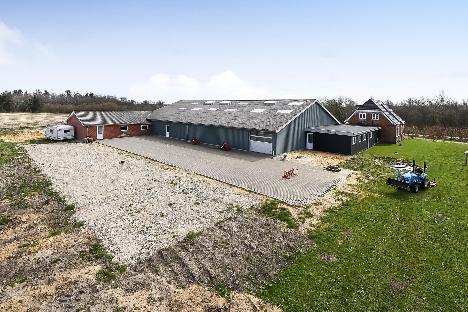 Bolig/erhverv på Lundagervej i Nørre Nebel - Ejendommen