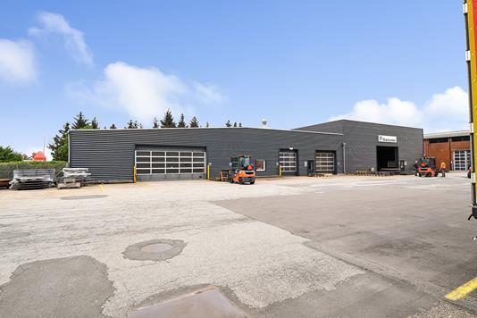 Produktion/lager på Industrivej i Ribe - Ejendommen