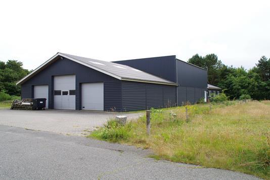 Produktion/lager på Egebækvej i Ribe - Andet