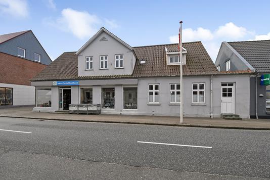 Bolig/erhverv på Bredgade i Nørre Nebel - Ejendommen