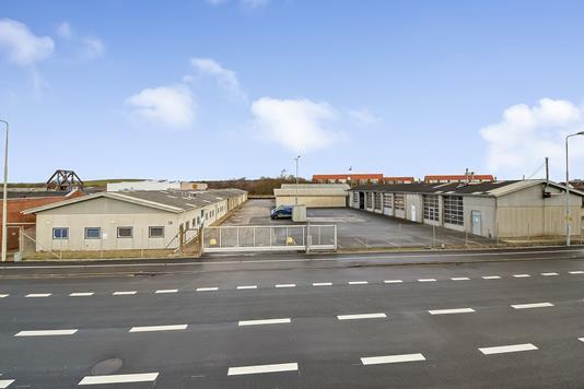 Produktion/lager på H E Bluhmes Vej i Esbjerg - Ejendommen