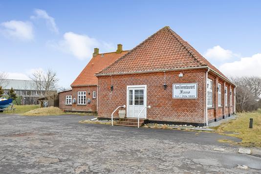 Bolig/erhverv på Postvejen i Fanø - Ejendommen