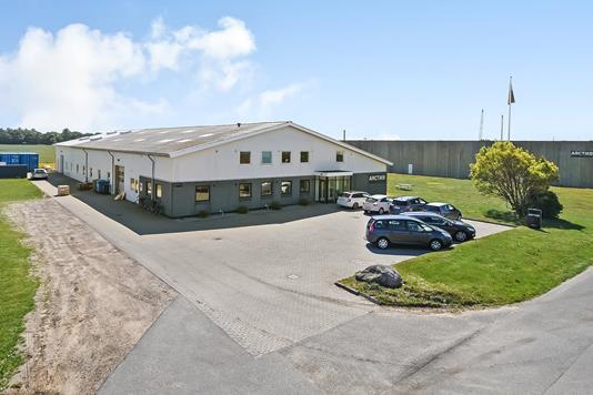 Produktion/lager på Lammefjordsvej i Esbjerg N - Ejendommen