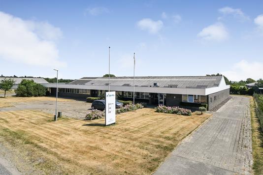 Produktion/lager på Østre Industrivej i Tjæreborg - Ejendommen