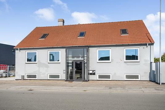 Kontor på Fiskebrogade i Esbjerg - Ejendommen