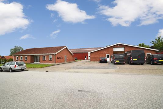 Kontor på Dueoddevej i Herning - Facade
