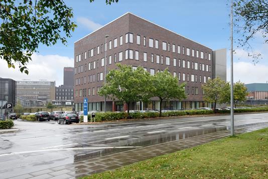 Kontor på Godsbanevej i Herning - Facade
