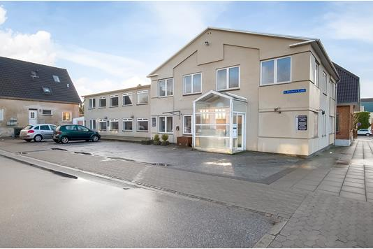 Kontor på Danmarksgade i Herning - Ejendommen