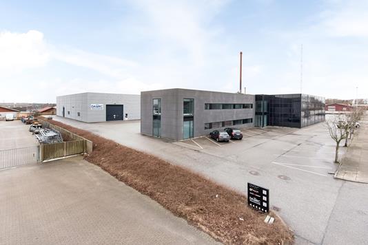 Produktion/lager på Sandagervej i Herning - Ejendommen