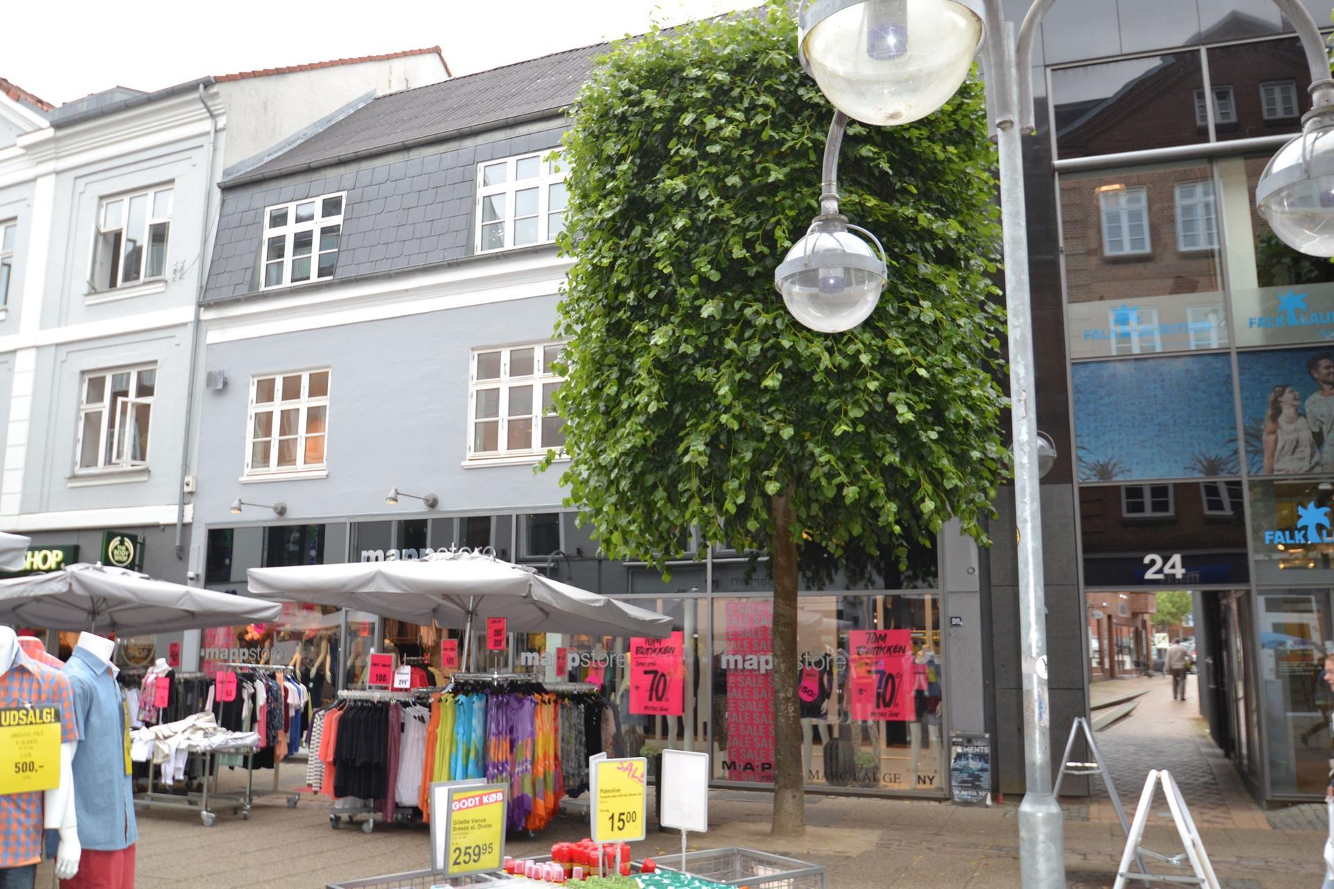 Boligudlejning på Bredgade i Herning - Facade