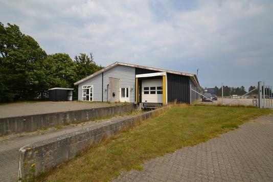 Produktion/lager på Jyllandsvej i Brande - Facade
