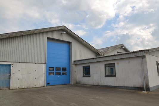 Produktion/lager på Fiskbækvej i Videbæk - Facade