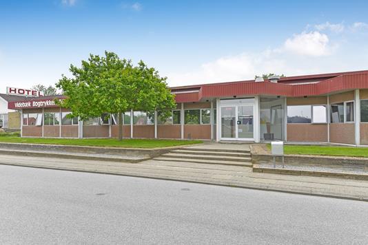 Kontor på Falkevej i Videbæk - Ejendommen