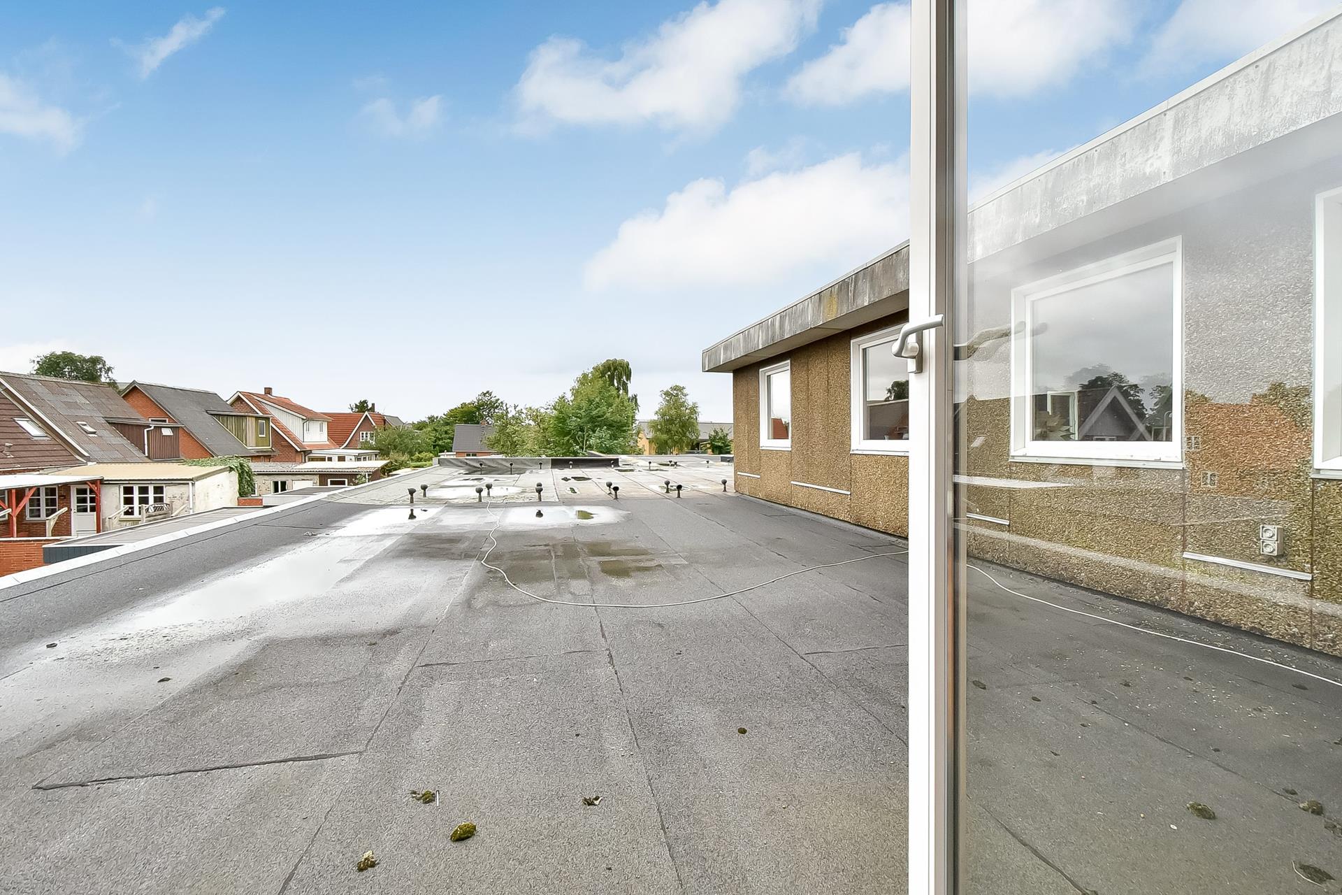 Boligudlejning på Bredgade i Videbæk - Tagterrasse
