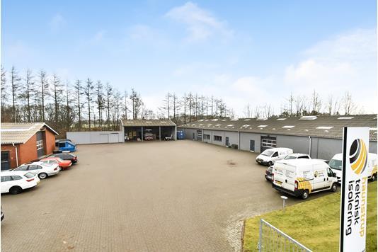 Produktion/lager på Fyrrely i Sunds - Andet