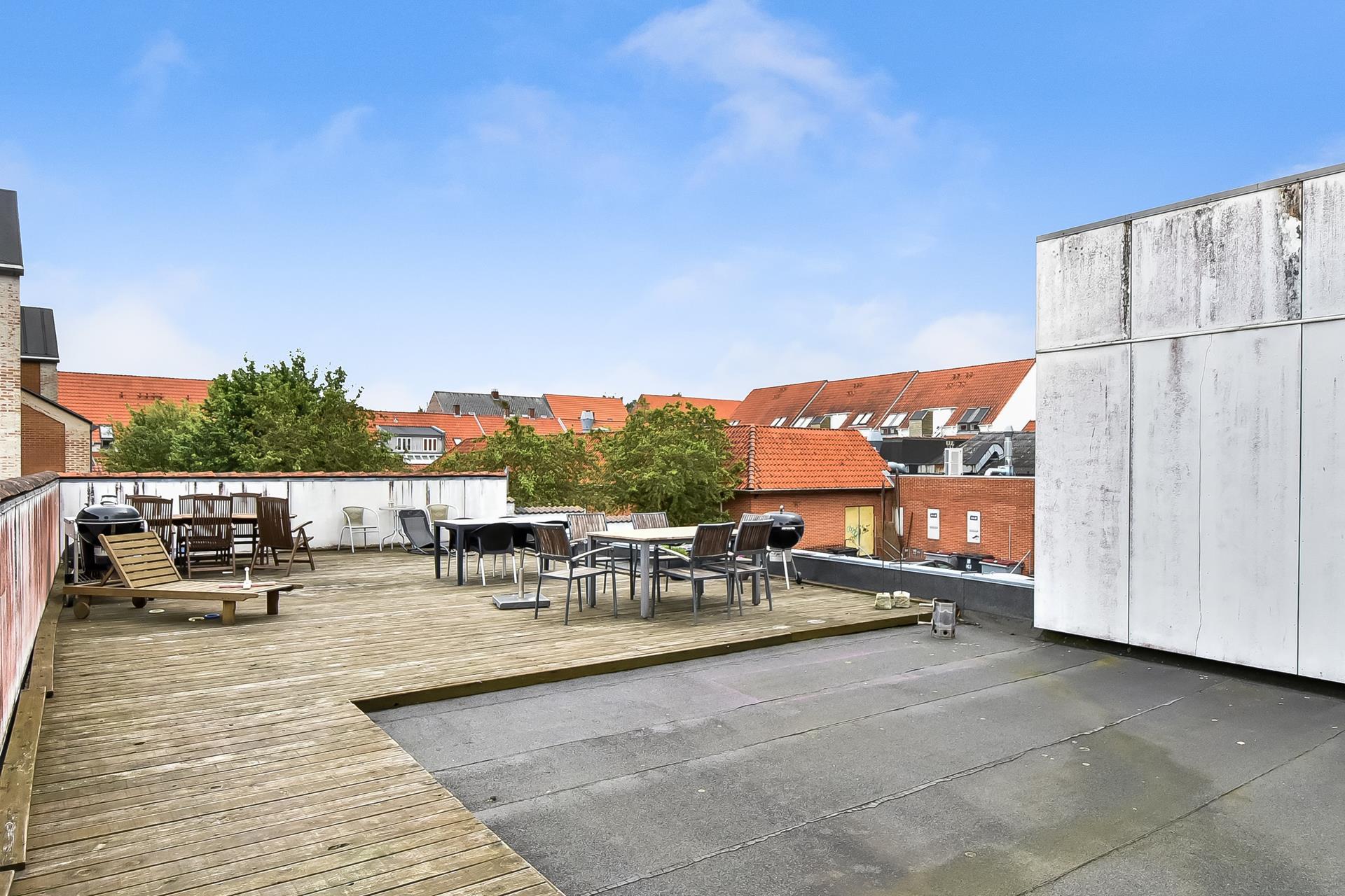 Bolig/erhverv på Bredgade i Herning - Tagterrasse