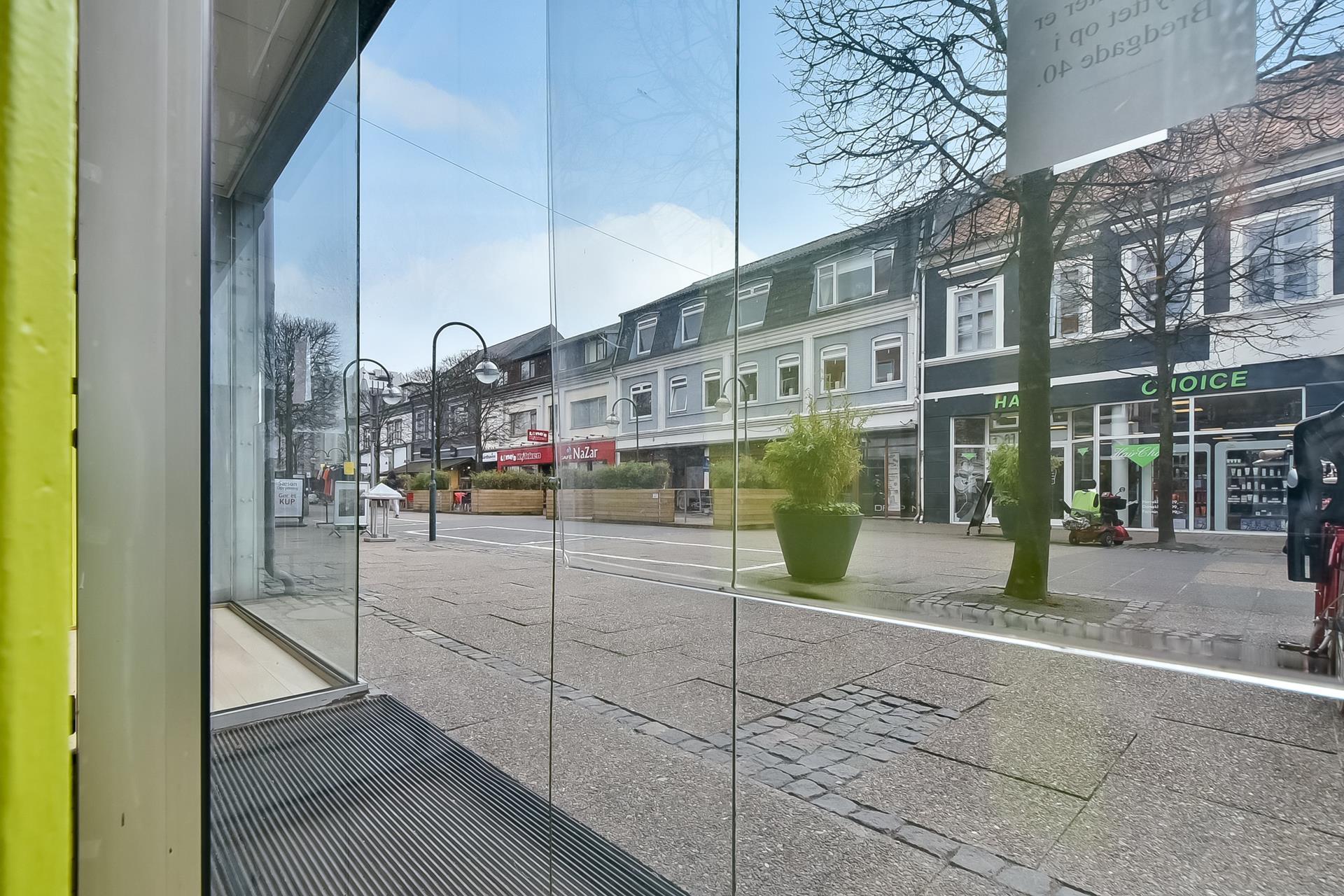 Bolig/erhverv på Bredgade i Herning - Udsigt fra ejendommen