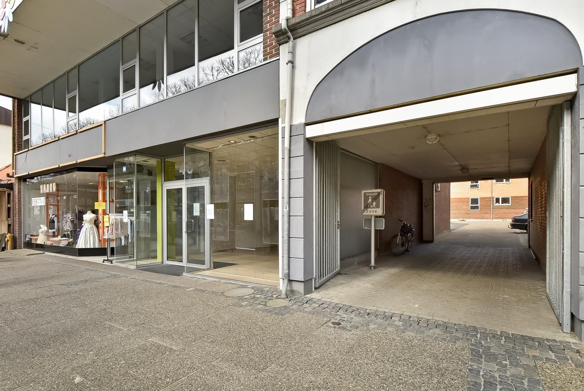 Bolig/erhverv på Bredgade i Herning - Ejendommen