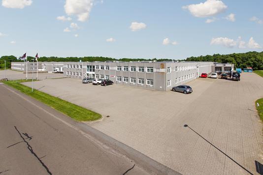 Produktion/lager på Sabroesvej i Silkeborg - Ejendommen