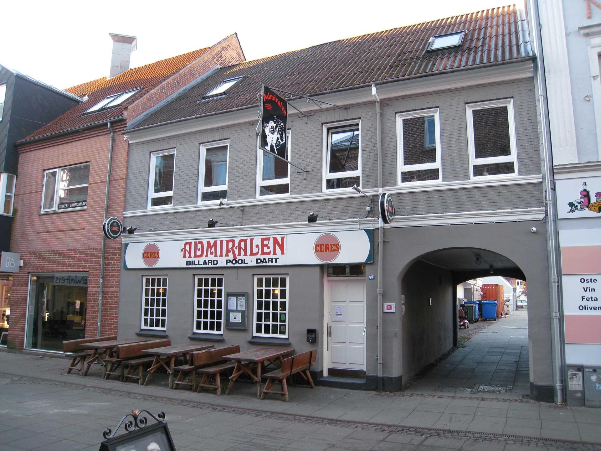 Bolig/erhverv på Søndergade i Silkeborg - Facade
