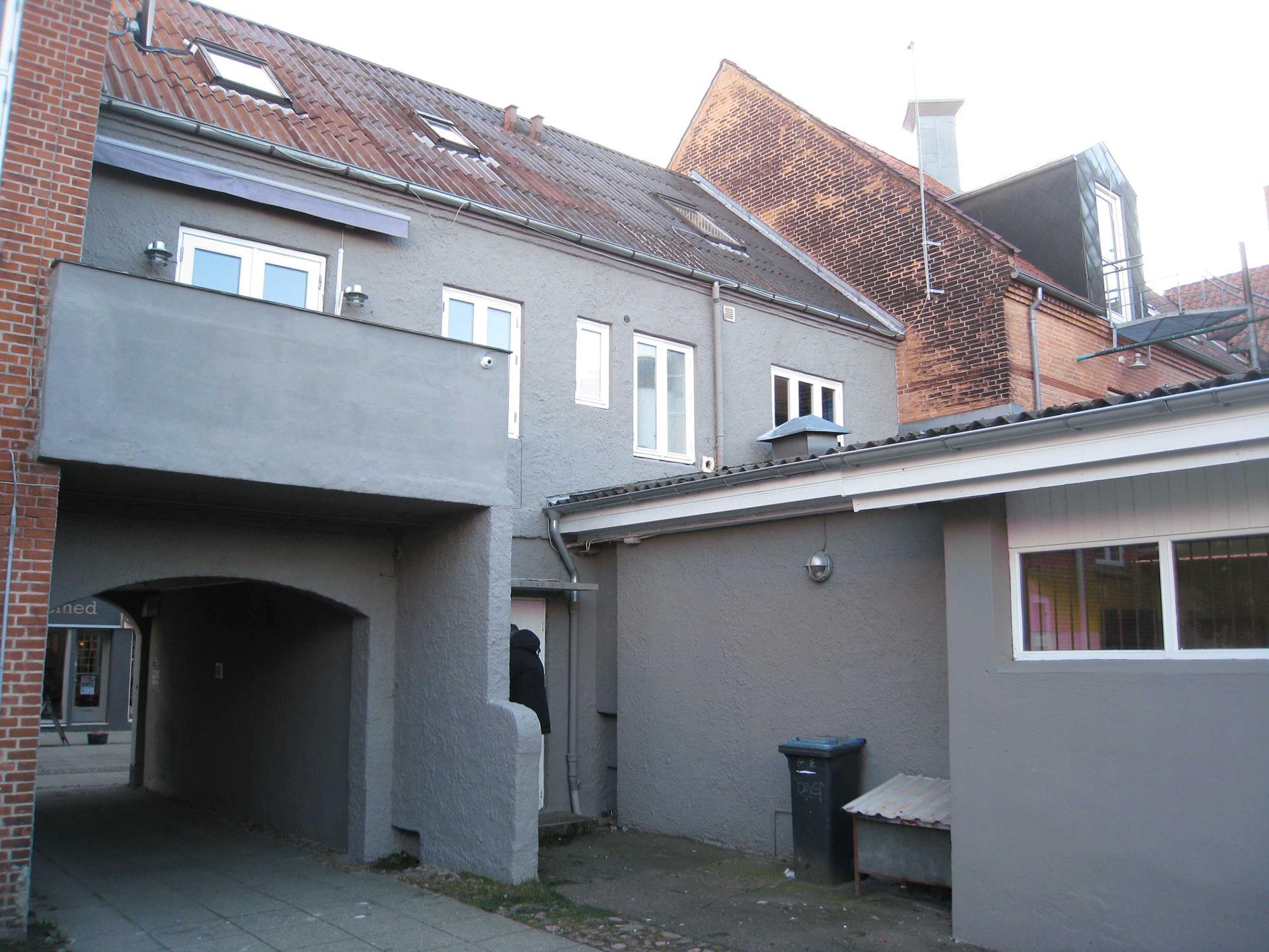 Bolig/erhverv på Søndergade i Silkeborg - Bag facade