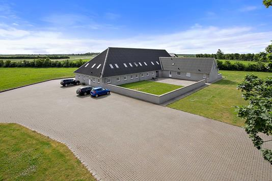 Kontor på Benslehøjvej i Karup J - Facade erhverv