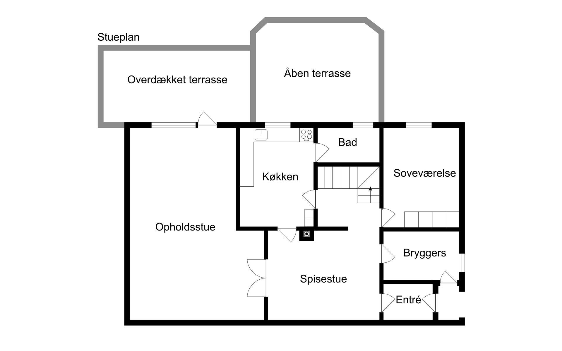 Bolig/erhverv på Nørreskov Bakke i Silkeborg - Andet
