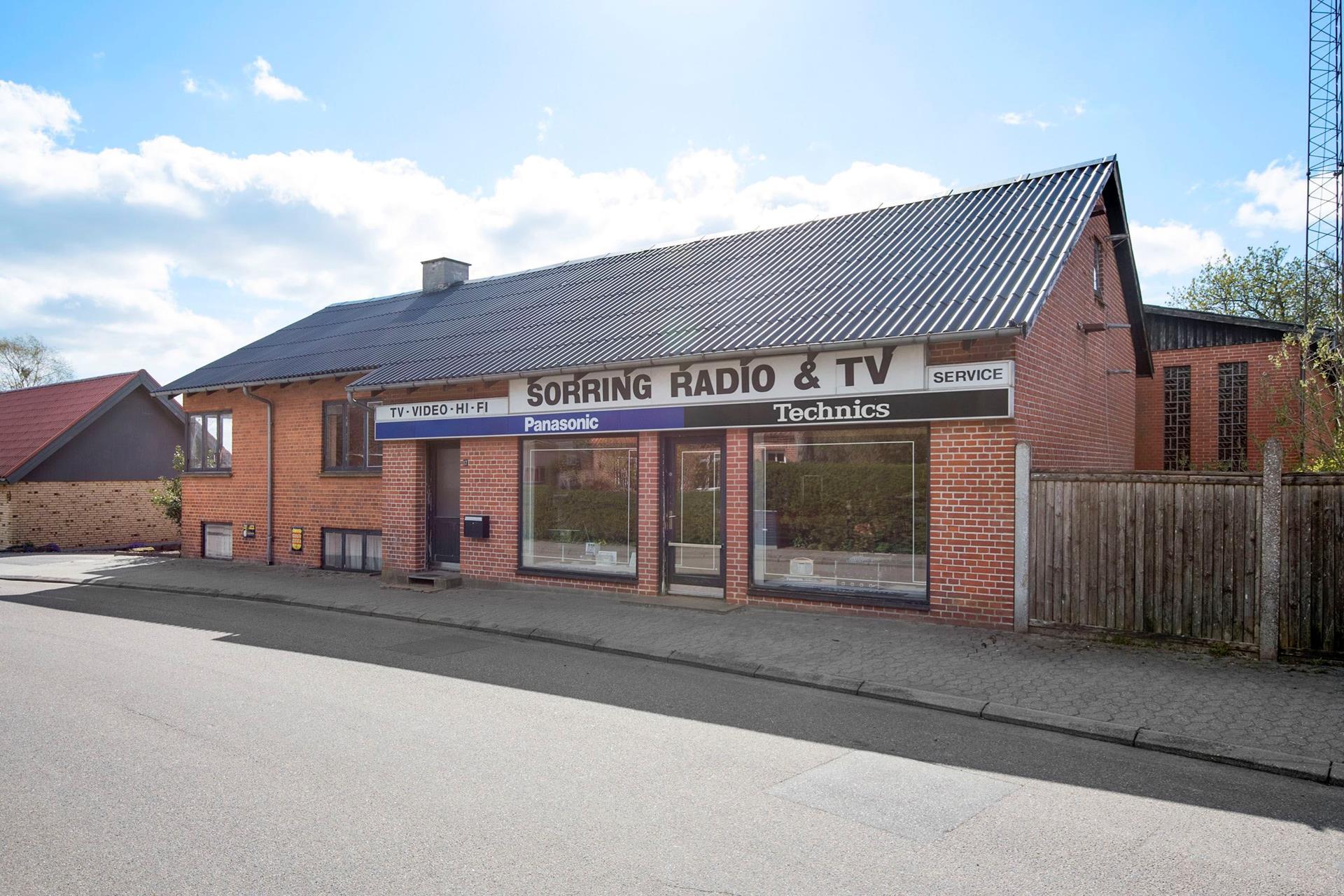 Bolig/erhverv på Ebbesensvej i Sorring - Andet