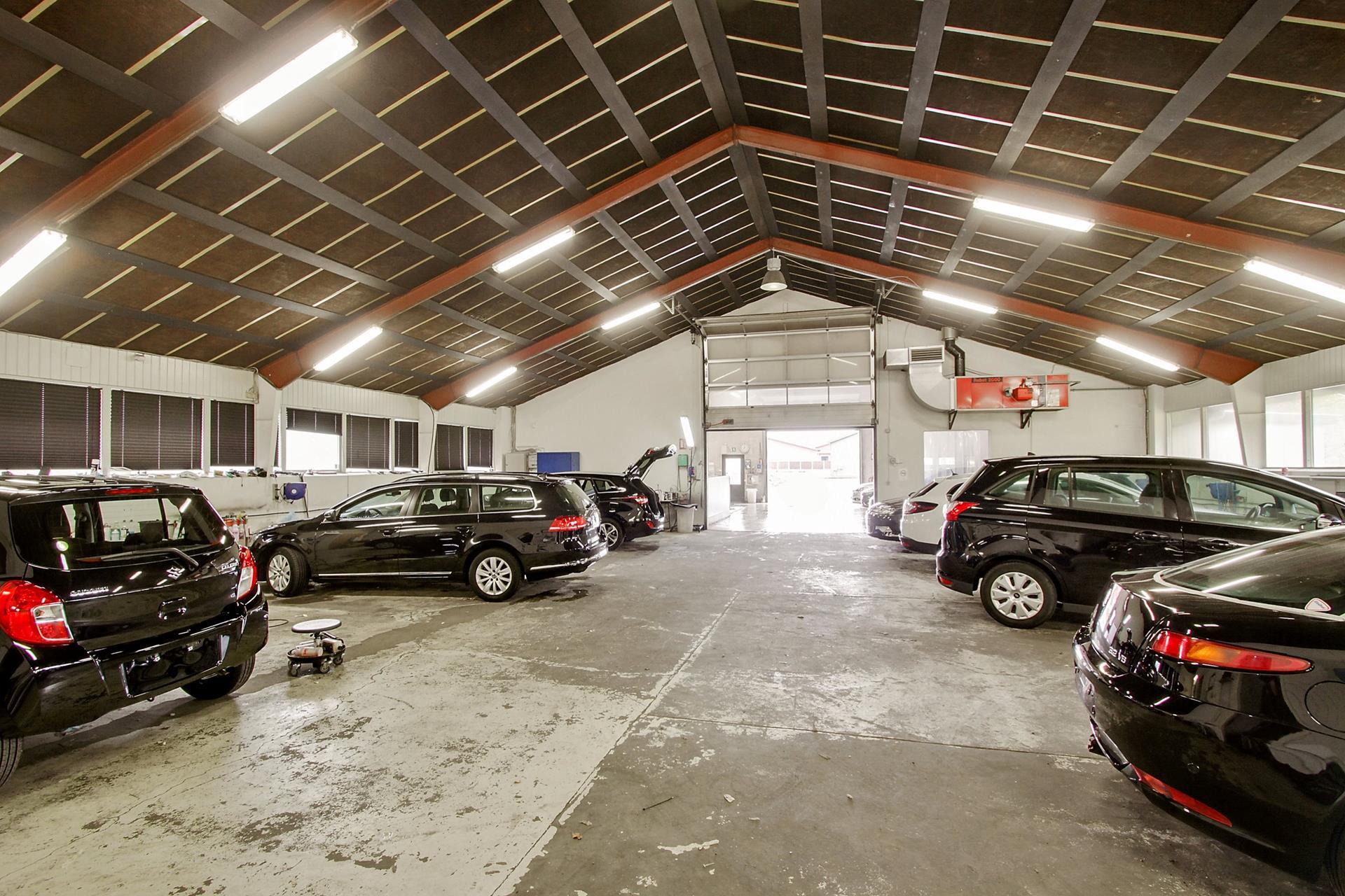 Bolig/erhverv på Thrigesvej i Silkeborg - Værksted
