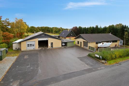 Produktion/lager på Thrigesvej i Silkeborg - Ejendommen