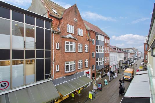 Bolig/erhverv på Vestergade i Silkeborg - Ejendommen