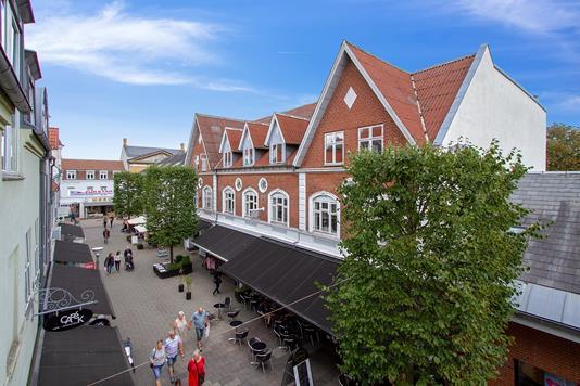 Bolig/erhverv på Tværgade i Silkeborg - Ejendommen