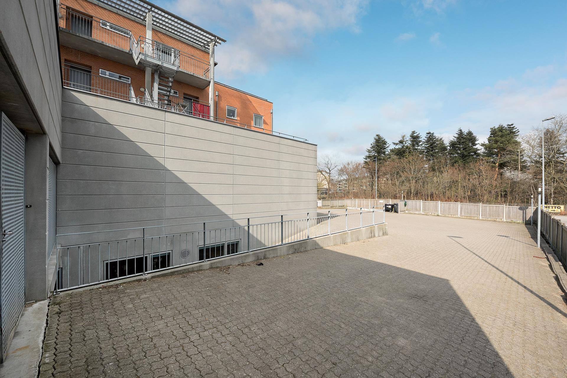 Detail på Borgergade i Silkeborg - Ejendommen